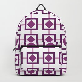 BOXED IN, PURPLE Backpack