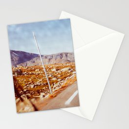 Road Tripping in Scandinavia Stationery Cards