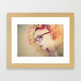 A Deeper Emotion Framed Art Print