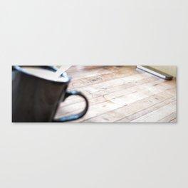 Dans le cafe Canvas Print