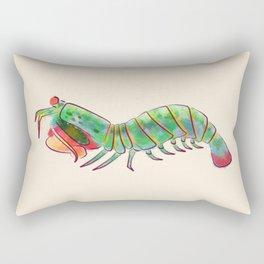 Peacock Mantis Shrimp Rectangular Pillow