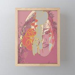 Brain tease Framed Mini Art Print