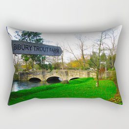 A day in the Cotswold's Rectangular Pillow