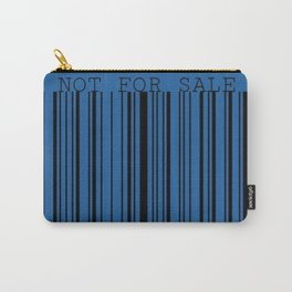 Not For Sale barcode Carry-All Pouch