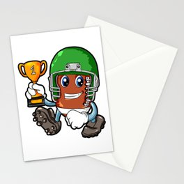 American FOOTBALL CHAMPION Trophy Son Present Stationery Cards