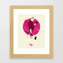 Mr Spiv Framed Art Print