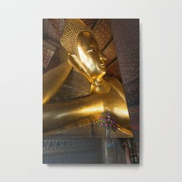 Reclining Buddha in Bangkok Metal Print