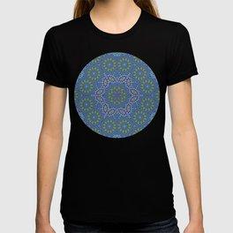 Lace kaleidoscope T-shirt