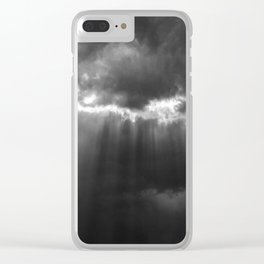 Black Light Clear iPhone Case