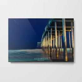 Ocean City Maryland. Metal Print