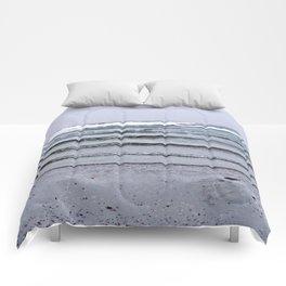 Winter Rippling Waves Comforters
