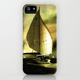 sailing race iPhone Case