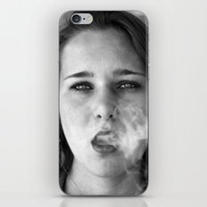 smoker and the thief  iPhone Skin
