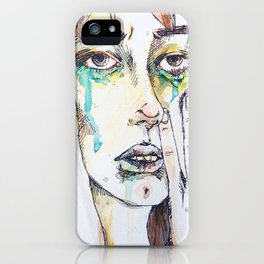 Mournings iPhone Case