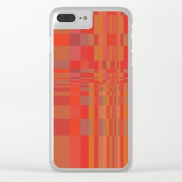Geometric 5 Variation5 Clear iPhone Case