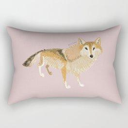 Canis lupus filchneri (c) 2017 Rectangular Pillow