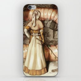 The Midwife and the Lindworm - Title Version iPhone Skin