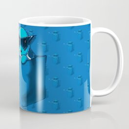 Blowing Bubble Squirtle Coffee Mug