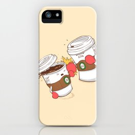 Strong Coffee iPhone Case