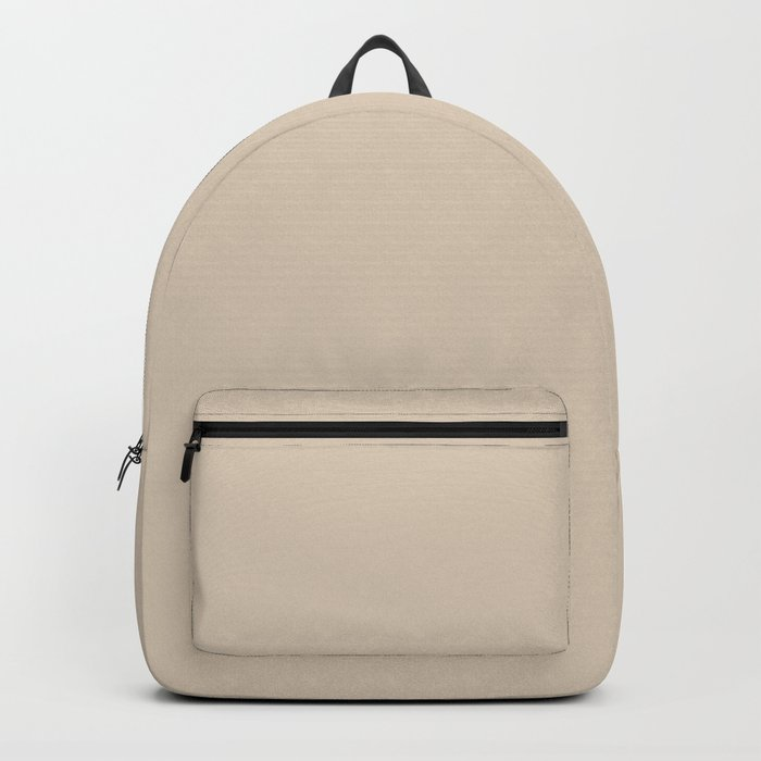Monochrome collection Beige Backpack