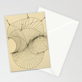Fluid Dynamics Stationery Cards