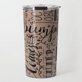All Things Fall on Craft Travel Mug