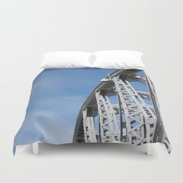 Span of Time Duvet Cover