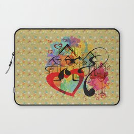 Liebe ist in der Luft - love is in the air Laptop Sleeve