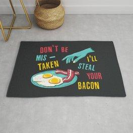 Bacon Thief Rug