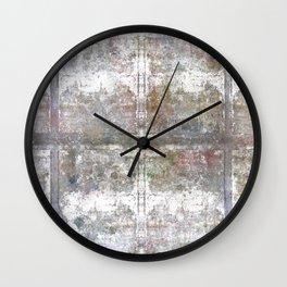 Blocks Wall Mural Wall Clock