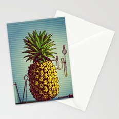 The Pineapple Experiment Stationery Cards