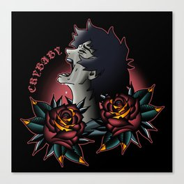 Devilman Crybaby Flash Canvas Print