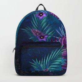 Night Falls on Blue Hawaii Backpack