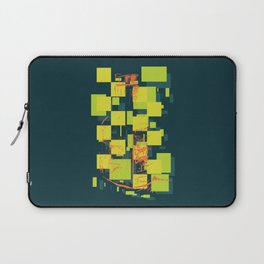 Color Orange Juice Illustration Laptop Sleeve