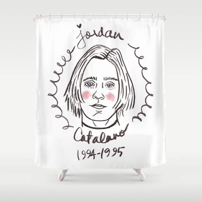 Its Jordan Catalano Or Whatever Shower Curtain By Collectiveakwardness