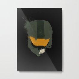 Spartans Never Die Metal Print
