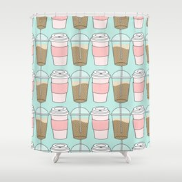 Coffee Hot & Cold Shower Curtain