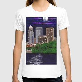 Moon over Minneapolis 2 T-shirt