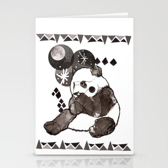 European Panda Stationery Cards