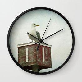 Standing Guard Wall Clock
