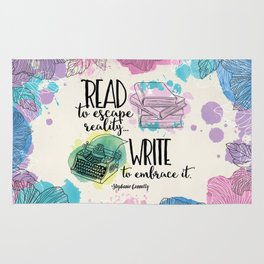 Write to Embrace design Rug