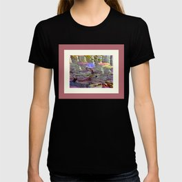 Water lily and pads T-shirt