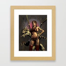 Dragon Trainer Framed Art Print