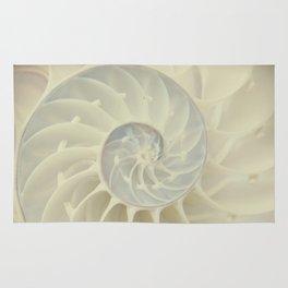 Nautilus Shell Rug