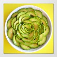 avocado Canvas Prints featuring Avocado by Hector Wong