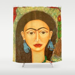 My homage to Frida Shower Curtain