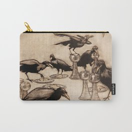 """""""The Seven Ravens"""" by Arthur Rackham From The Grimm Brothers Carry-All Pouch"""