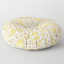 Pasta, a pattern. Floor Pillow