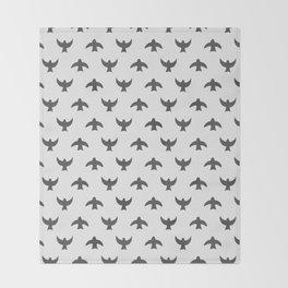 birds (1) Throw Blanket