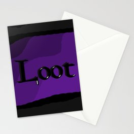 Loot: Color Violet Stationery Cards